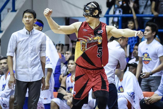 Alex Cabagnot drops 'Arrow' stunt as stakes raised in San Miguel-TNT rivalry