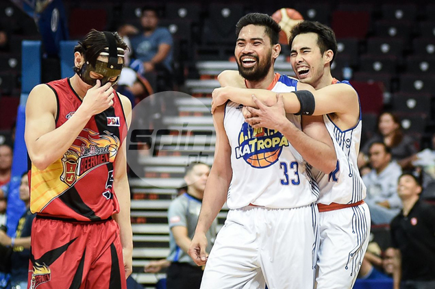 Annoyed TNT, Racela strive not to give Cabagnot a chance to do another 'Arrow' celebration