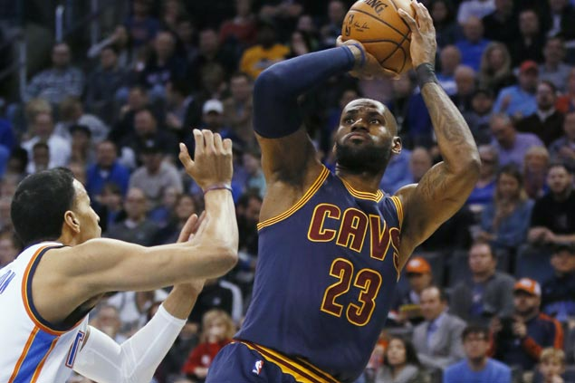 LeBron James still proud of Cavaliers effort after tiring four-game road trip ends in loss to OKC