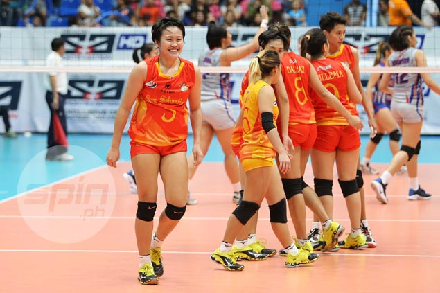 SSC Lady Stags star Grethcel Soltones completes NCAA MVP treble