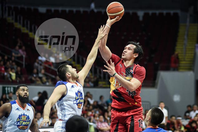 June Mar Fajardo says dictating tempo key for Beermen to regain lead in semis series vs TNT