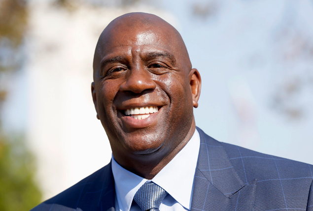 Lakers shake up front office as Magic Johnson takes over as president of basketball operations