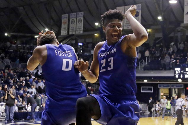 Creighton rides hot second half start to upset third-seed Providence and reach Big East semis