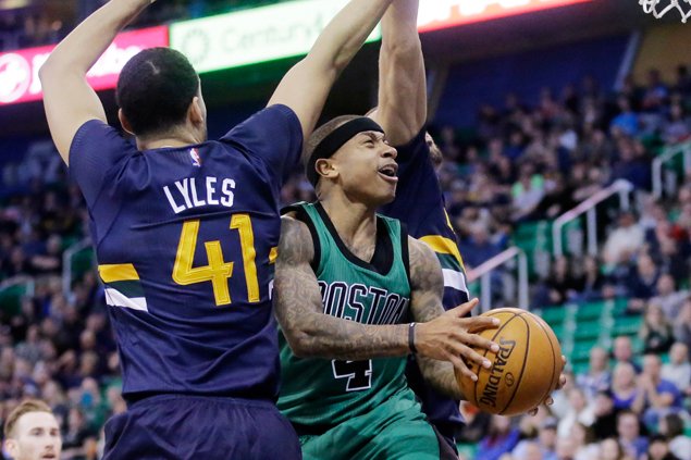 Bostons Celtics get a new win run going with rout of Utah Jazz