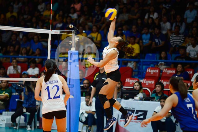Michelle Morente steps up in Ateneo search for new go-to player after Alyssa Valdez exit