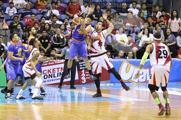 Roger Pogoy, Williams deliver late as tough TNT leaves San Miguel in 1-2 hole
