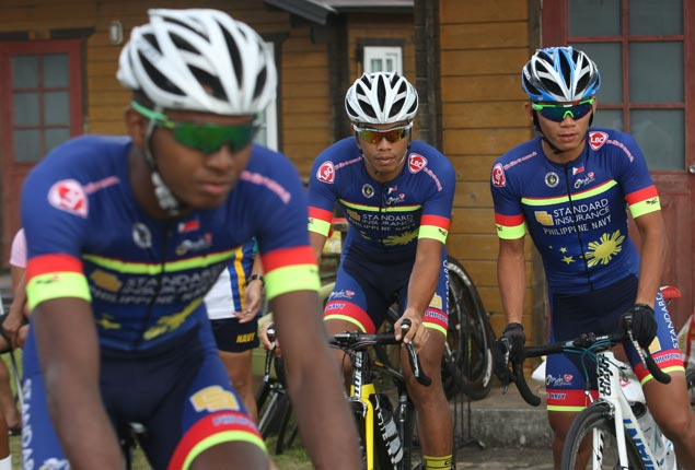 Podium sweep possible but Navy skipper insists focus is on No. 1 spot in Ronda Pilipinas