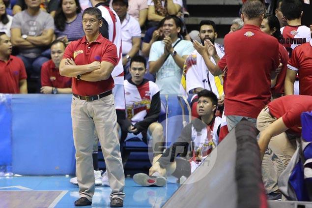 Flu-stricken RR Garcia helpless on bench as TNT's own 'RR' Pogoy goes berserk