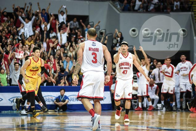 Mark Caguioa proves to be coach Tim Cone's 'magic bunot' in Game Three