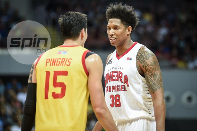 Joe Devance ready to defy doc's orders, play through pain the rest of the way for Ginebra