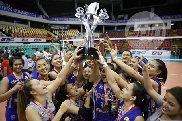 Arellano completes upset of thrice-to-beat San Sebastian to bag second women's volley title in three seasons