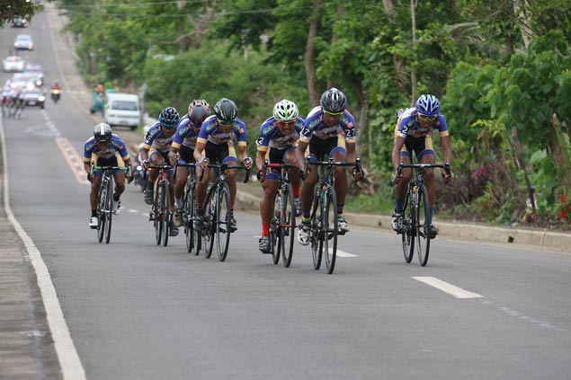 Navymen dominate Team Time Trial to extend lead in Ronda Pilipinas