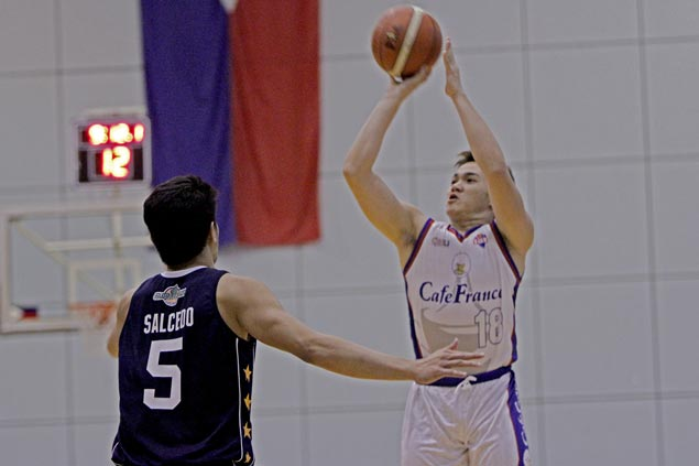 Cafe France survives Tayongtong's 39-point game for Wangs to make it three wins in a row