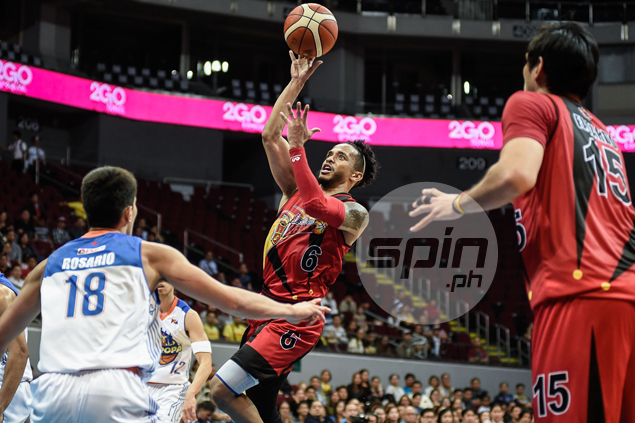 Chris Ross catches fire from afar, helps San Miguel level series vs TNT at 2-2