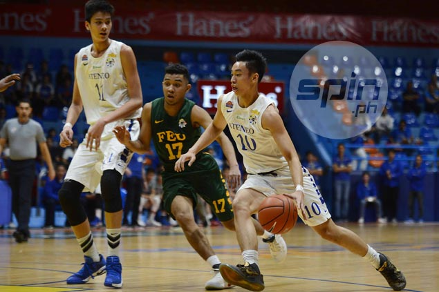 Dave Ildefonso says killer instinct key for Ateneo in surviving do-or-die match vs FEU