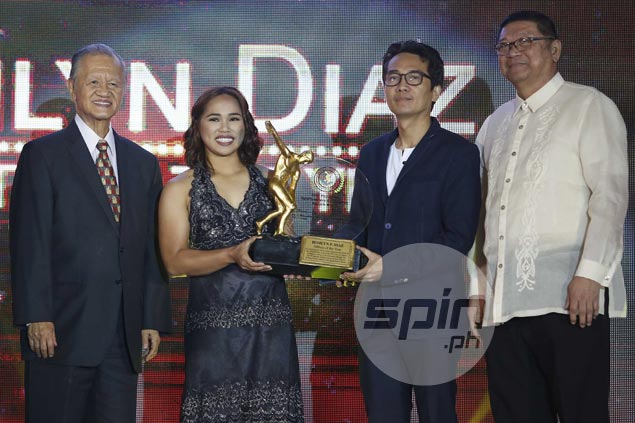Hidilyn Diaz says PSA Athlete of the Year award a proof that dreams do come true