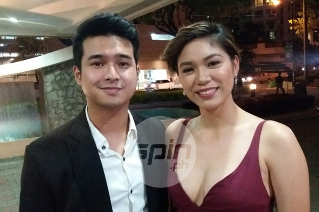 Jerome Ponce plays role of supportive boyfriend to Reyes - and makes it look cool
