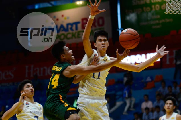Ateneo Blue Eaglets ride Ildefonso heroics to beat FEU, force sudden-death match