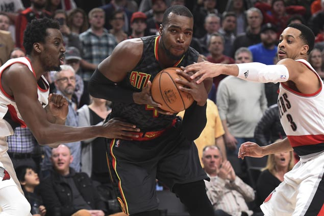 Paul Millsap, Taurean Prince come up clutch as Hawks outlast Blazers in overtime