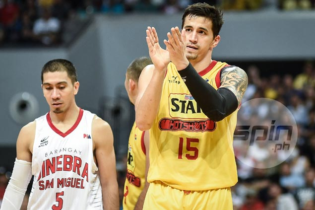 Marc Pingris takes blame after frustration over non-calls spoils stellar outing in Star loss