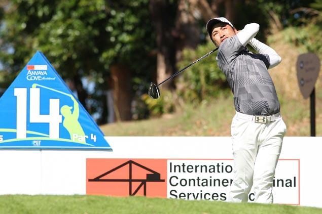 Toru Nakajima fires 68 for clubhouse lead as darkness halts play in PGT season opener at Anvaya