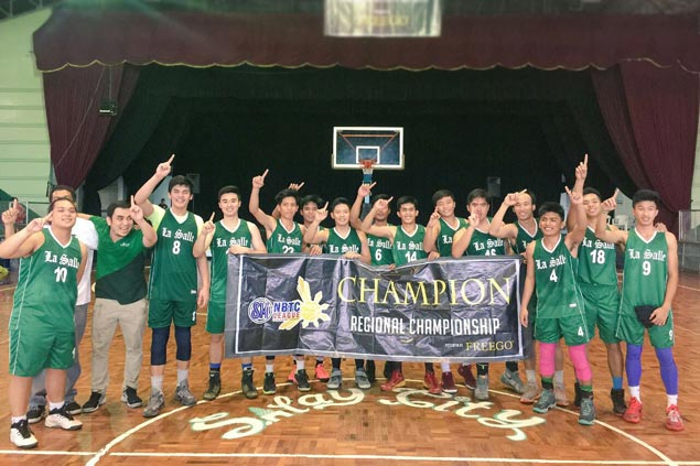 University of St. La Salle beats Tay Tung to clinch NBTC Region 9 crown