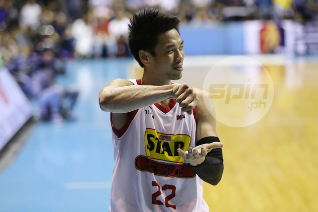 Allein Maliksi insists 'cooking' gesture meant for Star teammates - not for referees