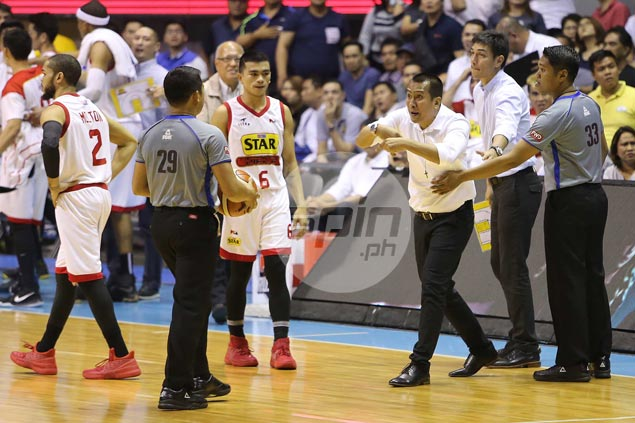 Chito Victolero says officiating a factor in Game Four, but rues failing to control emotion