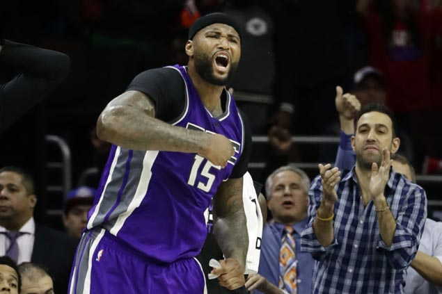 DeMarcus Cousins takes charge in endgame as Kings hold off Lakers