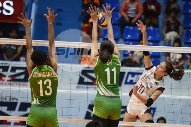 UP Lady Maroons back up title credentials with straight-set win over champion La Salle