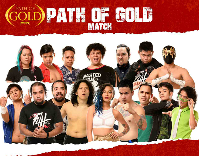 PWR title shot at stake as 20 wrestlers vie for glory in 'Path of Gold' brawl