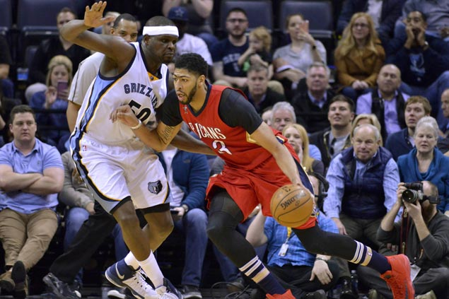 Pelicans squander big lead but do just enough to hold off Grizzlies