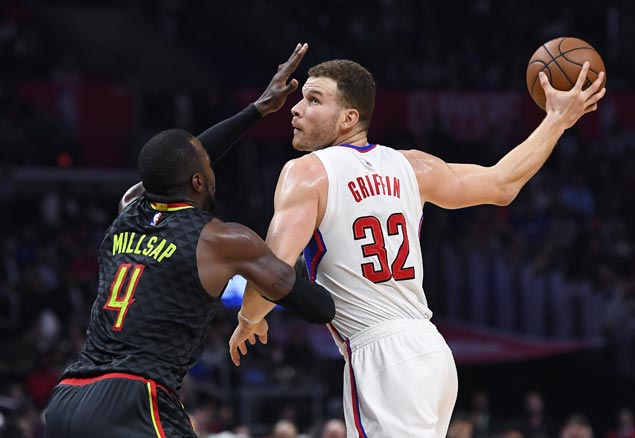Clippers stretch streak to four, hit 14 triples in rout of Hawks