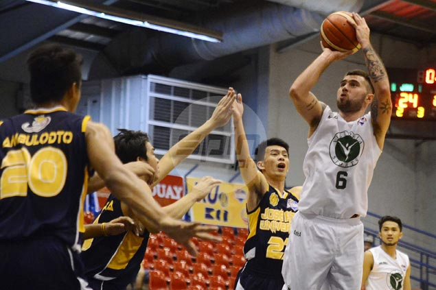 Victoria Sports scores first D-League victory at expense of JRU Bombers