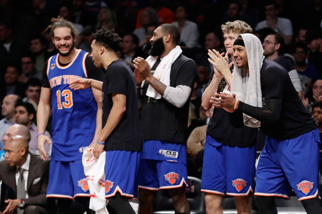 Knicks, Lakers still NBA's most valuable teams but Warriors closing in, says Forbes