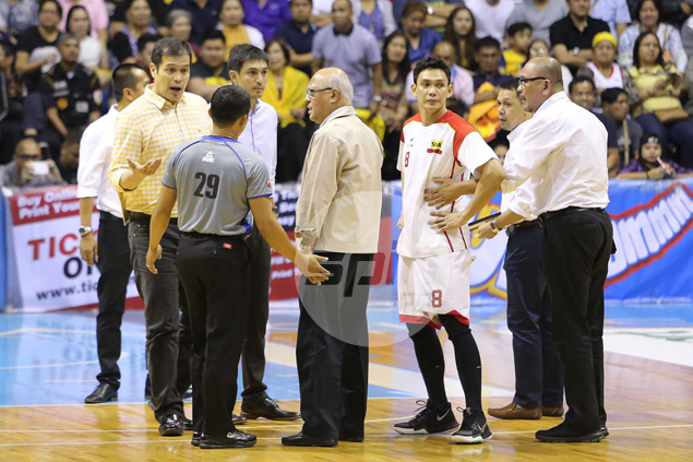Alvin Patrimonio wished he was player again - and not team manager - after losing cool over officiating