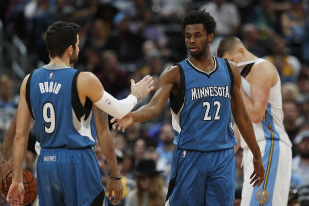 Andrew Wiggins drops 40 as Timberwolves pull away late to take down Nuggets