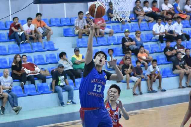 Allen Enriquez leads Arellano in dealing AMA a 31-point drubbing in Republica Cup