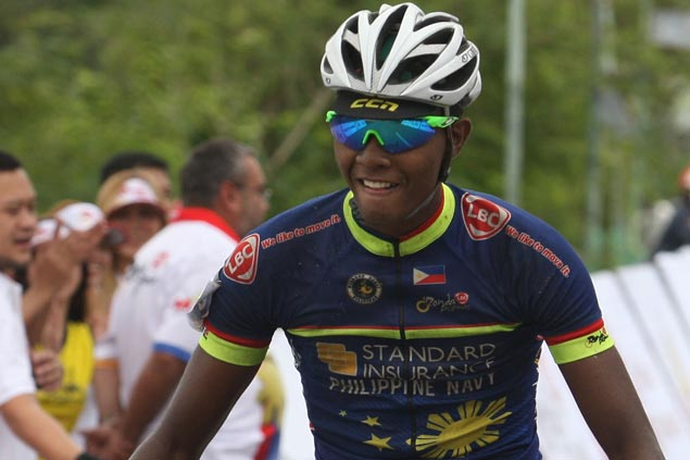 Teen Lampawog takes lap honors as Navy teammate Morales seizes Ronda overall lead