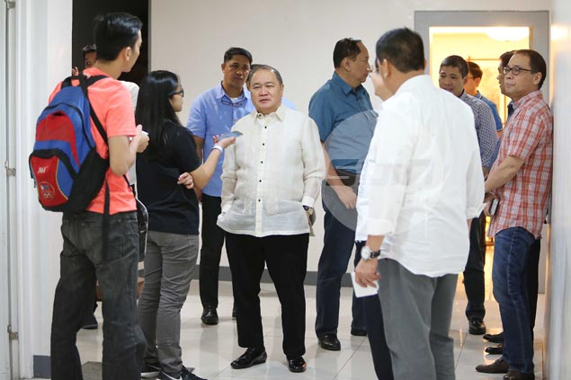 Manny Pangilinan would rather leave TNT alone as pressure mounts in PBA playoffs