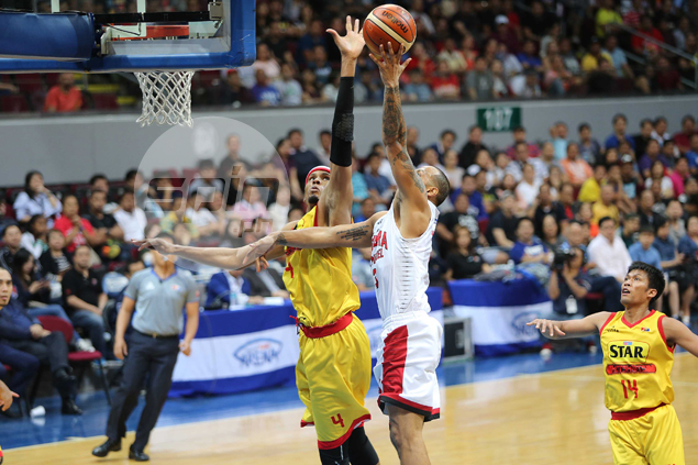 Rafi Reavis leads big show by subs as Star beats Ginebra to move on cusp of finals