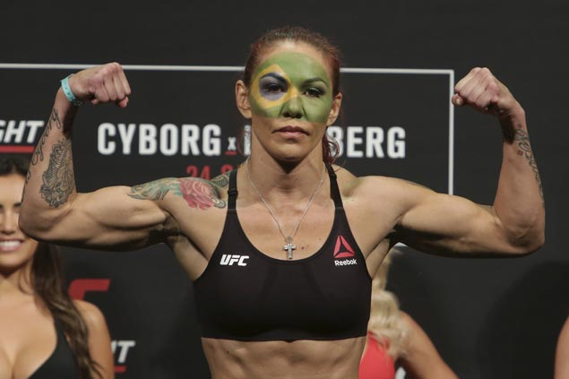 Cyborg seeks to cap decade-long dominance of women's MMA with elusive UFC title