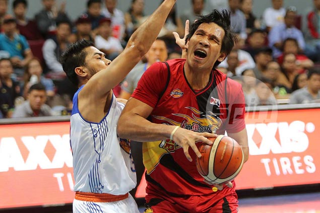 June Mar Fajardo 20-20 game powers SMB past TNT to force do-or-die match for finals berth