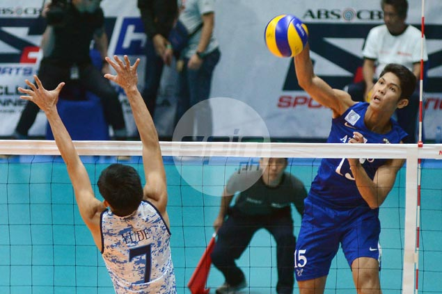 Dominant as usual, Marck Espejo shows way as Ateneo rips winless Adamson to stay unscathed in UAAP volley