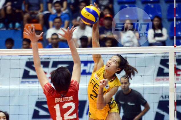 FEU Lady Tamaraws survive brief scare from lowly UE Lady Warriors to get back on winning track