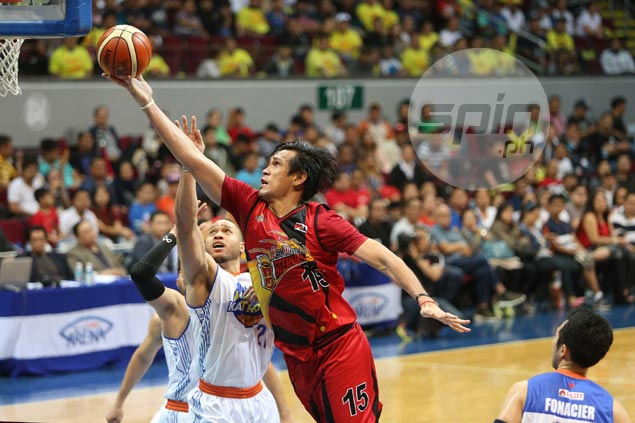 Fajardo takes sweet time to rest after grind-out battle with TNT bigs: 'Nakakapagod, di biro yun'