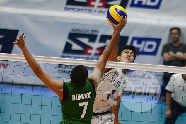 Fauzi Ismail, Bryan Bagunas shine as NU downs La Salle to forge three-way tie for second