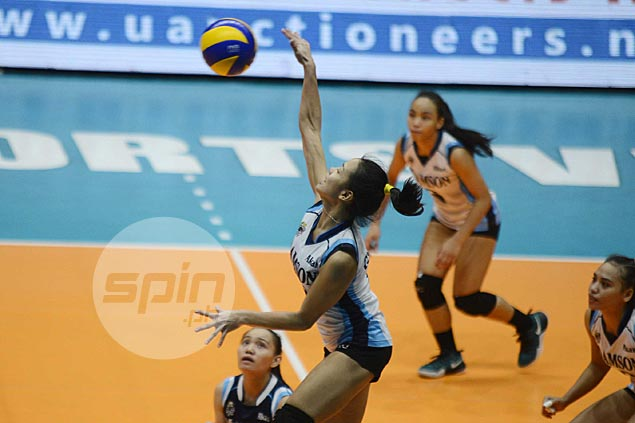 Lady Falcons dealing with chemistry issues as they try to climb out of cellar, says Jema Galanza