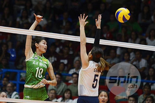 La Salle Lady Spikers bounce back with rout of erstwhile unbeaten NU Lady Bulldogs