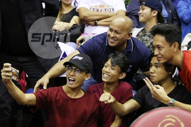 Is die-hard fan General 'Bato' De La Rosa Ginebra's lucky charm? He sure hopes so